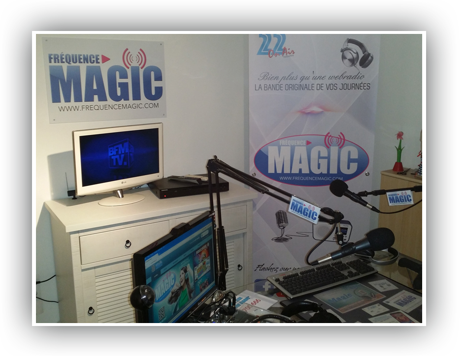 Frequence magic en photos studio people et goodies for Magic renov tout pret